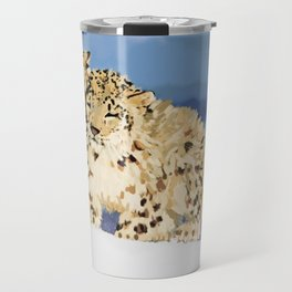Snow leopards Travel Mug