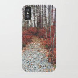 Autumn Wanderlust iPhone Case