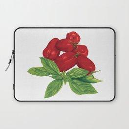 San Marzano tomato + Basil Laptop Sleeve