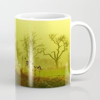 fairies Mugs featuring Fairies Nebula by Stephanie Koehl