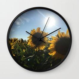 Catchin' Rays Wall Clock