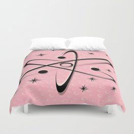 Atomic Love - Lunar Pink Duvet Cover