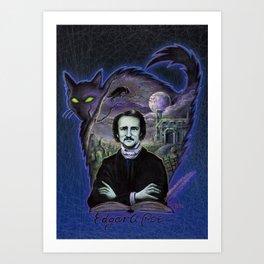 Edgar Allan Poe Gothic Art Print