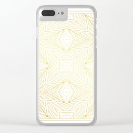 Ancient geometry. seamless pattern. Clear iPhone Case
