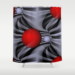 pattern and color -202- Shower Curtain