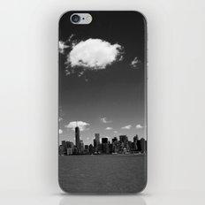 NYC Skyline B&W iPhone Skin