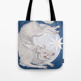 White boar Tote Bag