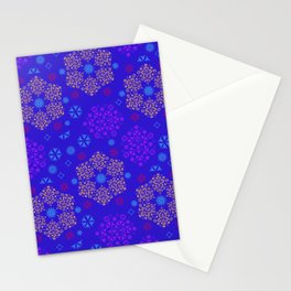 Fantasy flowers and leaves Stationery Cards