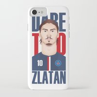 zlatan iPhone & iPod Cases featuring Z.I by Micka Design
