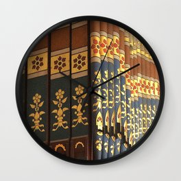Colourful Music Wall Clock