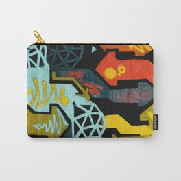 Melbourne Street mural art Graffiti Photograph for home decoration. Carry-All Pouch
