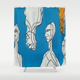Aura Shower Curtain