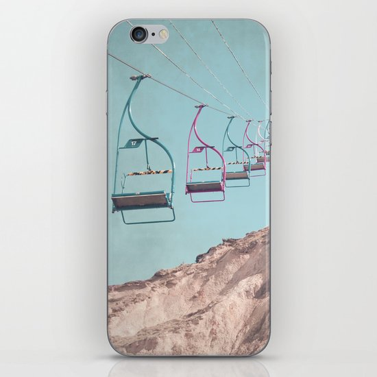 into the sky... iPhone Skin