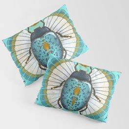 Egyptian Scarab Pillow Sham