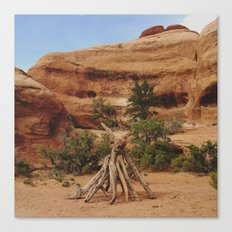Small Teepee Canvas Print