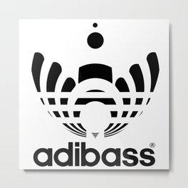 Adibass logo Metal Print