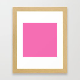 Happy Place Matching Pink Framed Art Print