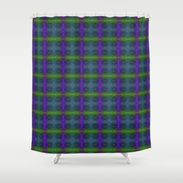 Tryptile 47l (Repeating 2) Shower Curtain