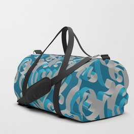 3D Abstract Ornamental Background II Duffle Bag