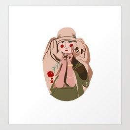 Alfons Mucha Interpretation Art Print