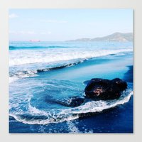 bali Canvas Prints featuring bali by Jen Gottlieb