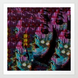 Within This Beautiful Machine: Betrayal Art Print