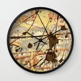 Miniature Original - Brown nuetral Wall Clock