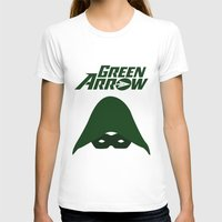 green arrow T-shirts featuring The Green Arrow by bivisual