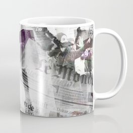 Newspaper collage Coffee Mug