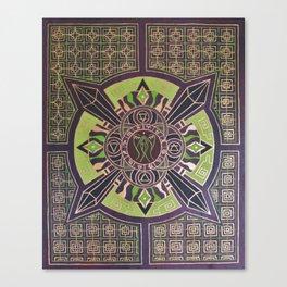 Heart Chakra Activation Canvas Print