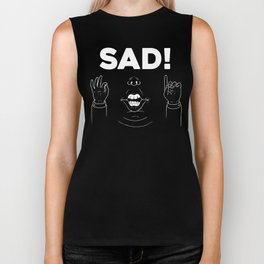 Sad! Dark Version Biker Tank