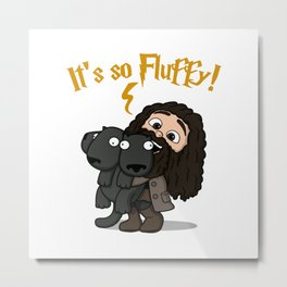 It's So Fluffy Metal Print