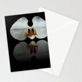 White Reflection Stationery Cards