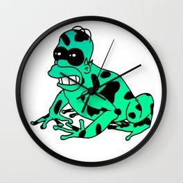 Homer Dart Frog Wall Clock