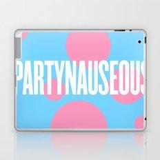 PARTYNAUSEOUS Laptop & iPad Skin