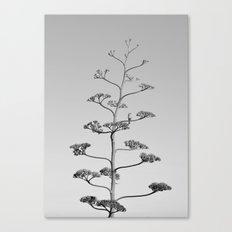 One false Leaf  ~Silver~ Canvas Print
