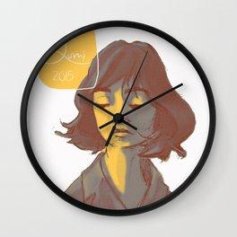 Mellow Yellow Wall Clock
