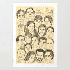 The Office Art Print