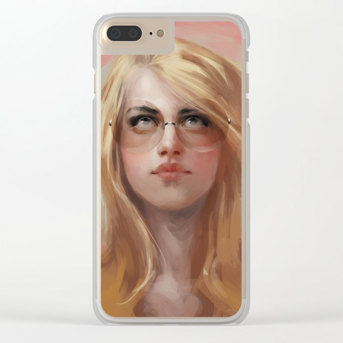 bubble to blow Clear iPhone Case