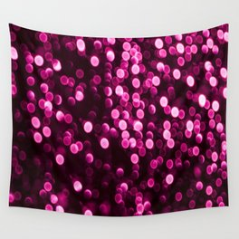 Bokeh Light In Purple Color #decor #society6 Wall Tapestry