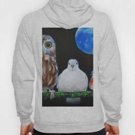 Wisdom Peace and Happiness Hoody