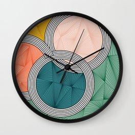 circles. Wall Clock