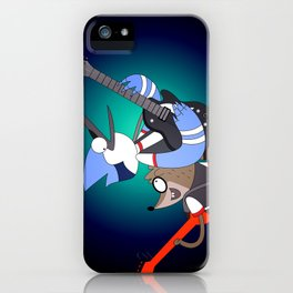 Mordecai and the Rigbys iPhone Case