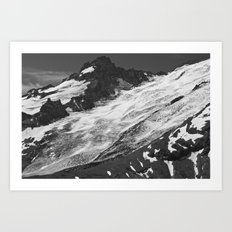 Crevassed Art Print