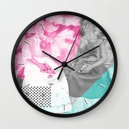 Pizza Kahlo Wall Clock