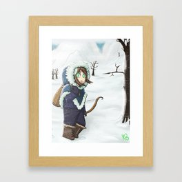 Winter Travels Framed Art Print