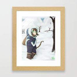 Winter Travels Framed Art Print