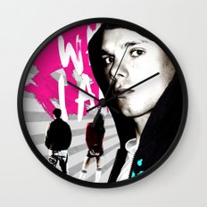 I Am What I Am Wall Clock