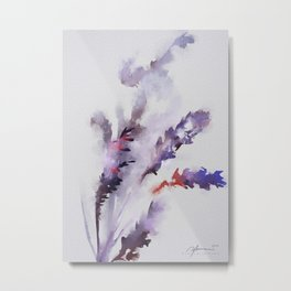 Digital Lavender. Metal Print
