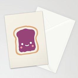 jelly sandwich Stationery Cards
